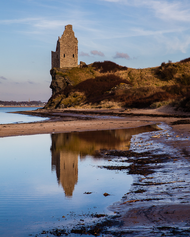 Greenan Castle Reflections