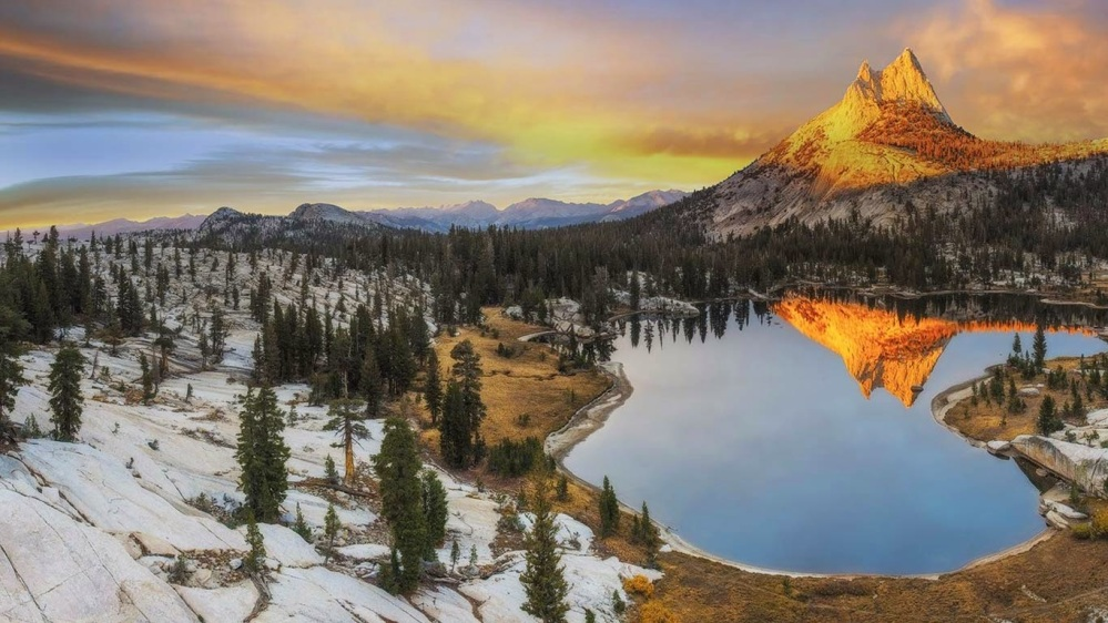 Cathedral Peak, Yosemite National Park, California 20141001