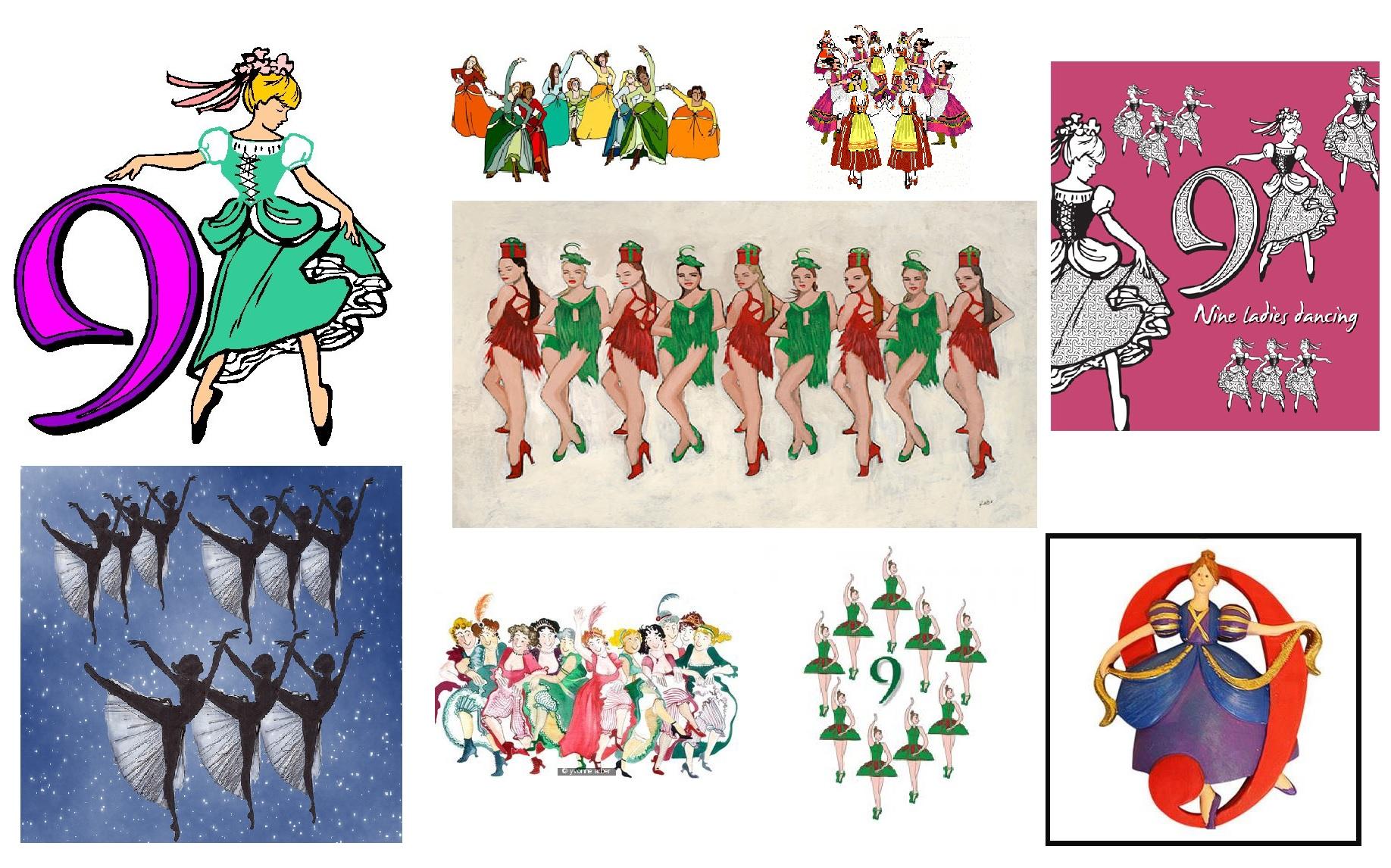 Nine ladies dancing…