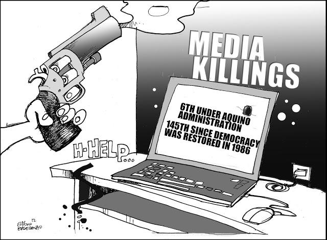 editorial cartoon 12 march 17 MEDIA KILLINGS final