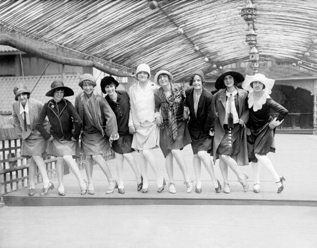 The Charleston Champions in New York City, 1926
