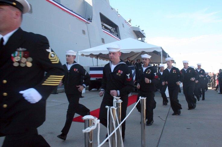 Commissioing of USS San Antonio (LPD 17)