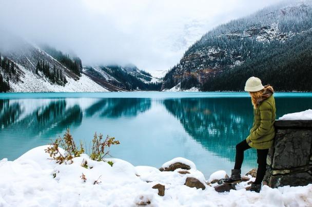 Female Hiker Lady Adventure Woman Beautiful
