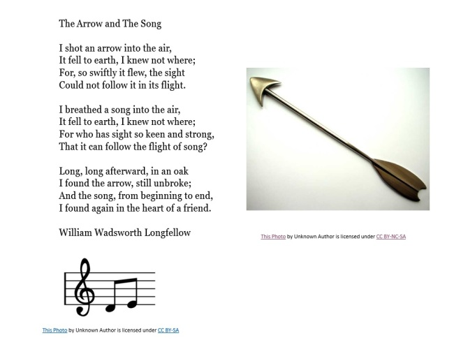 The Arrow and The Song WWL